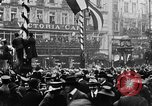 Image of British and German troops return home after armistice  Berlin Germany, 1918, second 5 stock footage video 65675054369