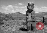 Image of Inca ruins Tiwanaku Bolivia, 1966, second 11 stock footage video 65675054389
