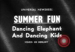Image of dancing elephant Sparks Nevada USA, 1966, second 2 stock footage video 65675054391