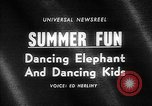 Image of dancing elephant Sparks Nevada USA, 1966, second 5 stock footage video 65675054391