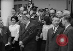 Image of President Johnson awards NASA Gemini IV crew Washington DC USA, 1965, second 11 stock footage video 65675054393