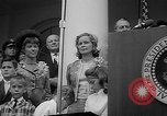 Image of President Johnson awards NASA Gemini IV crew Washington DC USA, 1965, second 12 stock footage video 65675054393