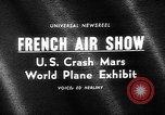 Image of International Air Show France, 1965, second 2 stock footage video 65675054394