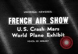 Image of International Air Show France, 1965, second 4 stock footage video 65675054394