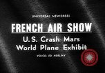 Image of International Air Show France, 1965, second 5 stock footage video 65675054394
