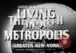 Image of Manhattan New York City USA, 1948, second 8 stock footage video 65675054422