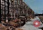 Image of damaged warehouses Yokohama Japan, 1945, second 7 stock footage video 65675054460