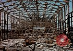 Image of damaged warehouses Yokohama Japan, 1945, second 9 stock footage video 65675054460