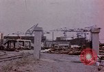 Image of Damage from U.S. bombing Yokohama Japan, 1945, second 6 stock footage video 65675054461