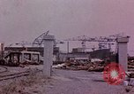 Image of Damage from U.S. bombing Yokohama Japan, 1945, second 7 stock footage video 65675054461
