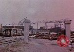 Image of Damage from U.S. bombing Yokohama Japan, 1945, second 9 stock footage video 65675054461
