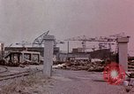 Image of Damage from U.S. bombing Yokohama Japan, 1945, second 11 stock footage video 65675054461
