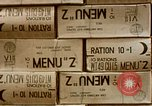 Image of K-rations Manila Philippines, 1945, second 6 stock footage video 65675054464
