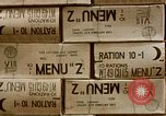 Image of K-rations Manila Philippines, 1945, second 7 stock footage video 65675054464