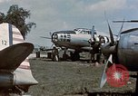 Image of Japanese Mitsubishi G4M aircraft  Manila Philippines, 1945, second 9 stock footage video 65675054466