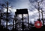Image of U.S. Army Antiaircraft tower near airfield Avril France, 1945, second 12 stock footage video 65675054475