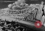 Image of Routine activities Iowa United States USA, 1944, second 5 stock footage video 65675054495