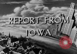 Image of Routine activities Iowa United States USA, 1944, second 6 stock footage video 65675054495
