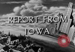 Image of Routine activities Iowa United States USA, 1944, second 8 stock footage video 65675054495