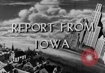 Image of Routine activities Iowa United States USA, 1944, second 9 stock footage video 65675054495