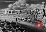Image of Routine activities Iowa United States USA, 1944, second 10 stock footage video 65675054495