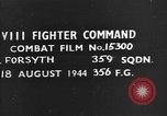 Image of German plane European Theater, 1944, second 1 stock footage video 65675054507