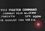 Image of German plane European Theater, 1944, second 3 stock footage video 65675054507