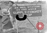 Image of Red Ball Convoy Chartres France, 1944, second 1 stock footage video 65675054521