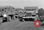 Image of Red Ball Convoy Chartres France, 1944, second 9 stock footage video 65675054522
