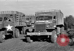 Image of Red Ball Convoy Chartres France, 1944, second 11 stock footage video 65675054522