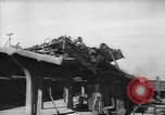 Image of Destroyed railroad facilities Ploesti Romania, 1944, second 10 stock footage video 65675054530