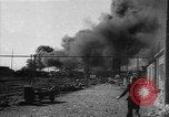 Image of Bombed rail tank cars burn in Ploiesti  Ploesti Romania, 1944, second 7 stock footage video 65675054531