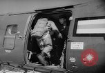Image of Sky divers Fort Bragg North Carolina USA, 1960, second 7 stock footage video 65675054567