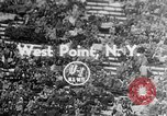Image of football match West Point New York USA, 1953, second 1 stock footage video 65675054577