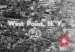 Image of football match West Point New York USA, 1953, second 2 stock footage video 65675054577