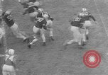 Image of football match West Point New York USA, 1953, second 5 stock footage video 65675054577