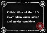 Image of US Navy response in World War 1 European Theater, 1917, second 8 stock footage video 65675054627