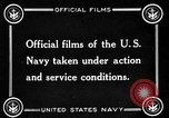 Image of US Navy response in World War 1 European Theater, 1917, second 9 stock footage video 65675054627