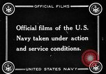 Image of US Navy response in World War 1 European Theater, 1917, second 11 stock footage video 65675054627