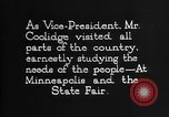 Image of Calvin Coolidge United States USA, 1925, second 6 stock footage video 65675054644