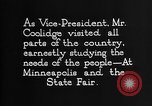 Image of Calvin Coolidge United States USA, 1925, second 12 stock footage video 65675054644