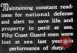 Image of United States Coast Guard Atlantic Ocean, 1926, second 10 stock footage video 65675054648