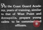 Image of United States Coast Guard Academy United States USA, 1926, second 9 stock footage video 65675054651