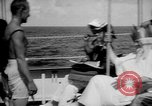 Image of initiation ceremony Atlantic Ocean, 1926, second 3 stock footage video 65675054652