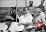Image of initiation ceremony Atlantic Ocean, 1926, second 4 stock footage video 65675054652