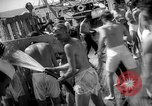 Image of initiation ceremony Atlantic Ocean, 1926, second 11 stock footage video 65675054652