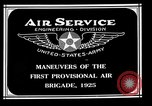Image of 1st Provisional Air Brigade Langley Field Virginia USA, 1925, second 4 stock footage video 65675054653
