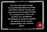 Image of 1st Provisional Air Brigade Langley Field Virginia USA, 1925, second 7 stock footage video 65675054653
