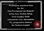Image of 1st Provisional Air Brigade United States USA, 1925, second 1 stock footage video 65675054655
