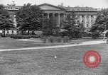 Image of Treasury Building Washington DC USA, 1925, second 1 stock footage video 65675054658